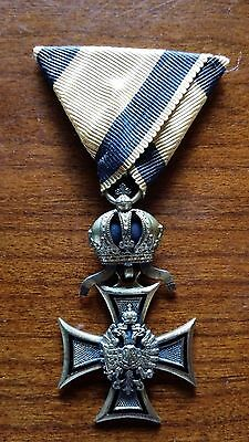 Austria 50 Year Long Service Cross - Genuine - Full Size Medal
