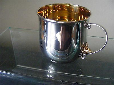 Baby Children Sterling Silver Christening Tooth Fairy Mug / Cup