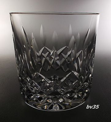 """WATERFORD CRYSTAL LISMORE OLD FASHIONED GLASS  3 3/8"""" -  9 ounce GLASSES"""
