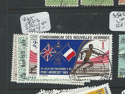New Hebrides French (P0706B)  Y&t 282-3, 300-1  Vfu