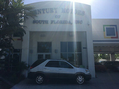2005 Buick Rendezvous  NIADA CERTIFIED WARRANTY SALT FREE NO ACCIDENTS NON SMOKERS WHITE