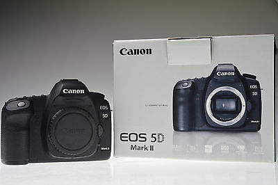 CANON EOS 5D Mark II Body 21.1MP Digital Camera Shutter Count 14085 Excellent