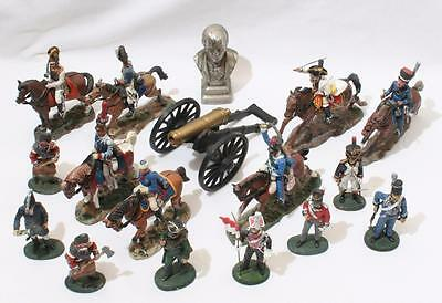 Lot of Vintage Lead Figures Soldiers by Del Prado - Napoleonic inc Mounted etc 1
