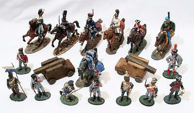 Lot of Vintage Lead Figures Soldiers by Del Prado - Napoleonic inc Mounted etc 2