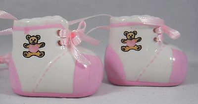 Personalized Pink Baby's 1st Christmas Shoes Christmas Tree Ornament new holiday