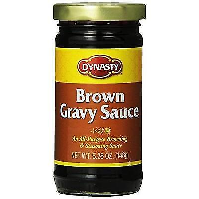 Dynasty Brown Gravy Sauce, 5.25 Ounce (Pack of 12) New