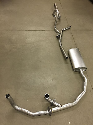 1963 Cadillac Single Exhaust System, Aluminized Without Resonator