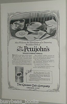 1926 Quaker Oats advertisement, Pettijohn's Whole Wheat Cereal