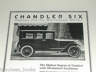 1920 Chandler advertisement, Chandler Motor Car Co., Chandler Six