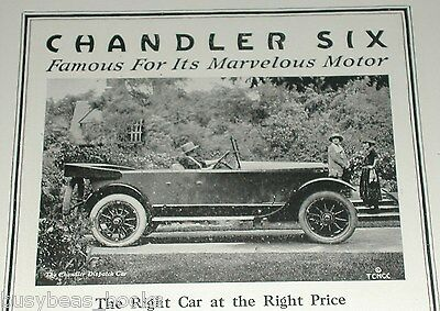 1920 Chandler Motor Car Co. advertisement, Chandler Dispatch car