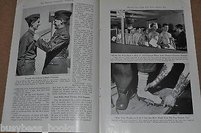 1941 magazine article, U.S. ARMY LIFE, Soldier, basic training etc, early WWII