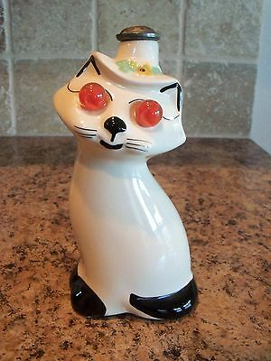 American Bisque Cardinal Kitty Cat Marble Eyes Laundry Clothes Sprinkler Bottle
