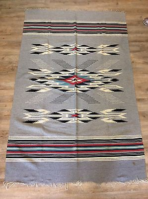 "Chimayo Vintage Rug From 1950's - 44"" X 68"" - Rare!"