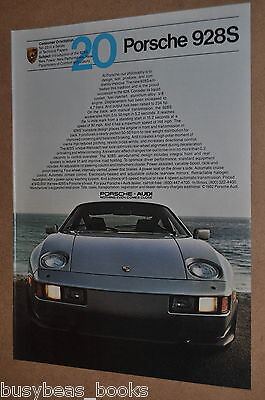 1983 Porsche 928 advertisement, PORSCHE 928s, front view