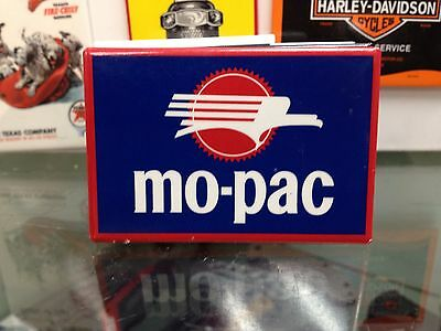the original MO-PAC full backed refrigerator RR MAGNET