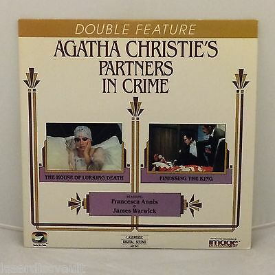 Agatha Christie's Partners in Crime: House of…/Finessing the… Laserdisc NEW LD