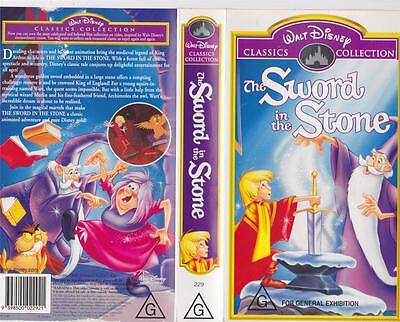 The Sword And The Stone Vhs Video Pal~ A Rare Find