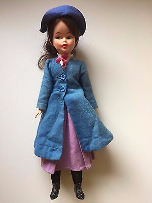 "Mary Poppins 12"" Horseman Tammy 100th Anniv Disney Movie Doll 1965"