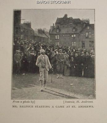 1896 article w GOLF early photos includes one from 1867 Leith Links, Windermere