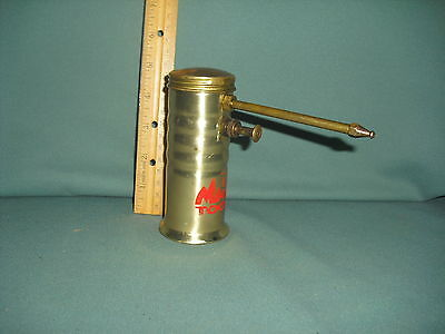 Vintage MAC Tools Brass Oil Squirt Can.