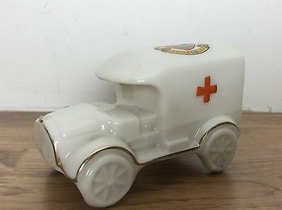 RED CROSS AMBULANCE TOLLESBURY Vintage Antique Crested Ware Porcelain / China