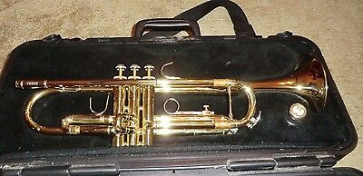BACH TRUMPET Model TR300 with Hard Case & Mouthpiece