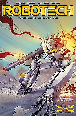 (2017) Titan Comics Robotech #1 Comic Pop Exclusive Variant Cover! Ltd To 500!