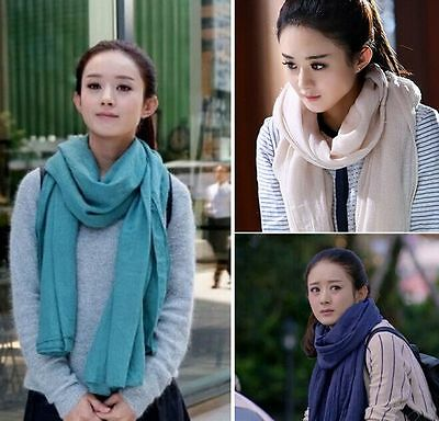 2016 New Style Scarves Lady Women Long soft cotton Scarf Wrap Shawl Stole $1.90