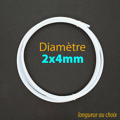 4mm OD 2mm ID PTFE Teflon Bowden Tube 1.75 Filament 3D printer RepRap Rostock