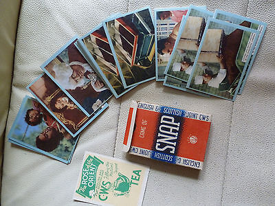 FULL PACK OF CWS SNAP CARDS GAME - 2nd FILM SERIES