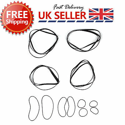 Set of 2 GT2 Timing Belt 2mm Pitch 6mm Width Closed Loop For 3D Printer