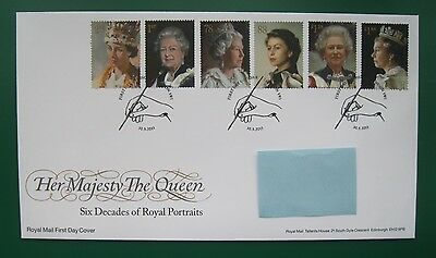 2013 SIX DECADES OF ROYAL PORTRAITS - First Day Cover (London postmark)
