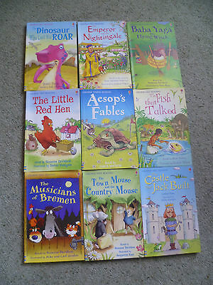 Usborne - First Reading Books Collection (Level 3 & 4) (9 books)