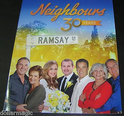 2015 Neighbours 30 Years Anniversary Stamp Album 3 Sheetlets TV Stars 30 x 70c