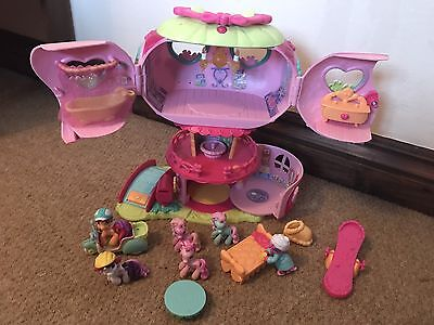 My Little Pony Pinkie Pie Treehouse Set And Accessories