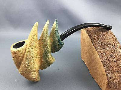 Roger Wallenstein Driftwood pipe Pfeife pipa - non Filter - Handmade in Germany