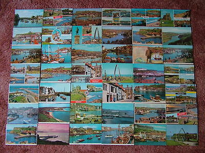 42 Postcards of WHITBY. Standard size. Used & Unused. 1960's - 1980's.