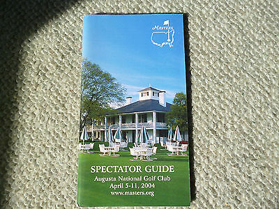 Masters Spectator guide 2004 Augusta National