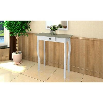 New White Console Hall Side Table Bedside 1 Drawer French Furniture Provincial