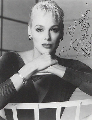 Brigette Nielson Genuine Hand Signed Large Photo