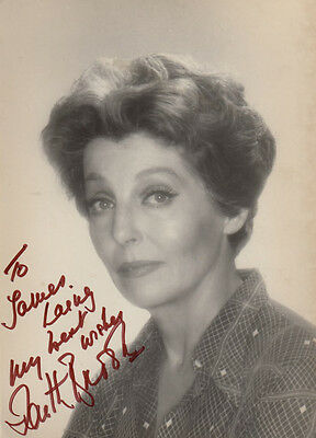 Faith Brook The Jungle Book BBC War & Peace Hand Signed Photo & Message Letter