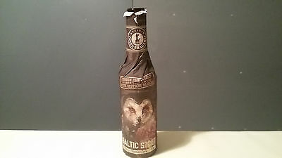 Rügener Inselbrauerei Baltic Stout rare Empty Beer Glass Bottle Germany Collect