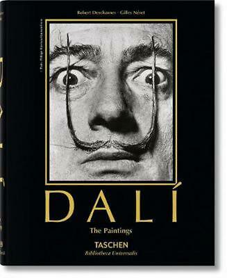 Salvador Dali: The Paintings by Robert Descharnes (English) Hardcover Book Free