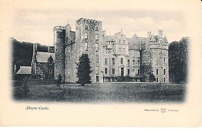 Early ABOYNE Aboyne Castle - published by W.R. & S., Reliable Series