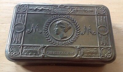 Original WW1 Princess Mary Christmas Gift Tin 1914