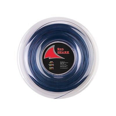 Challenger  Red Shark Blue Edition 8-Sided 1.26 Tennis String Reel 660 Ft. ,new