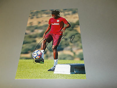 Thomas Ghana Atlético Madrid Argentinien signed signiert Autogramm 20x28 Foto
