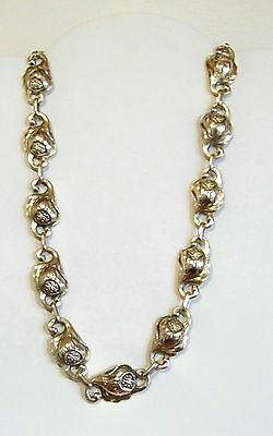 Rare & Stunning C. Poul Petersen Sterling Silver Necklace