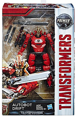 Transformers The Last Knight Premier Edition Deluxe Drift
