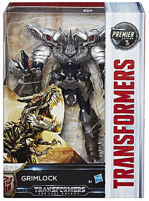 Transformers The Last Knight Premier Edition Voyager Dinobot Grimlock